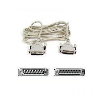 Kabel datový prodlužovací, 25 pin M- 25 pin F, 2m, (18 pin) šedý, Logo
