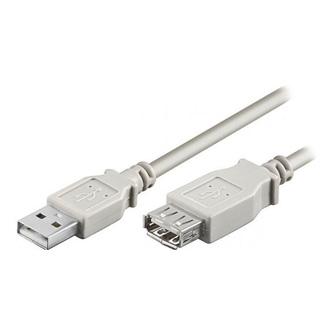 Kabel USB (1.1), USB A  M- USB A F, 1.8m, přenosová rychlost 480Mb/s