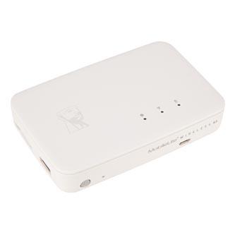 Kingston čtečka paměťových karet USB, MobileLite Wireless Flash Reader G3, SD, externí, bezdrátová, bílá
