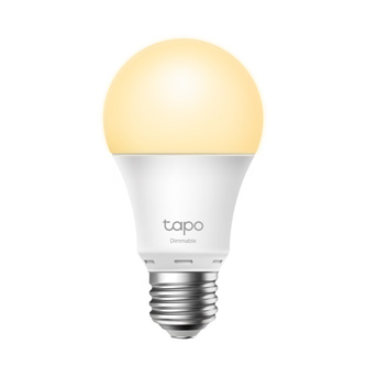 LED žárovka TP-LINK A27, 220-240V, 8.7W, 806lm, 2700k, teplá, 15000h, stmívatelná chytrá Wi-Fi žárovka