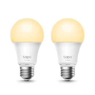 LED žárovka TP-LINK A27, 220-240V, 8.7W, 806lm, 2700k, teplá, 15000h, stmívatelná chytrá Wi-Fi žárovka, 2- pack