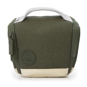 Taška na fotoaparát, polyester, khaki, Cam bag S Mirrorless, s popruhem, Golla
