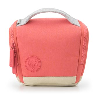Taška na fotoaparát, polyester, růžová, Cam bag S Mirrorless, s popruhem, Golla
