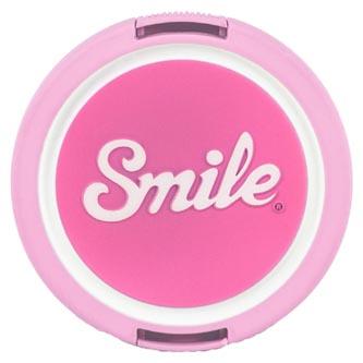 Smile krytka objektivu Kawai 58mm, růžová, 16121