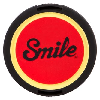 Smile krytka objektivu Pin Up 67mm, červená, 16124