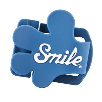 Smile klip na krytku objektivu Giveme5, modrý, 16401
