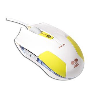 E-Blue Myš Cobra S, 1600DPI, optická, 6tl., 1 kolečko, drátová USB, zelená