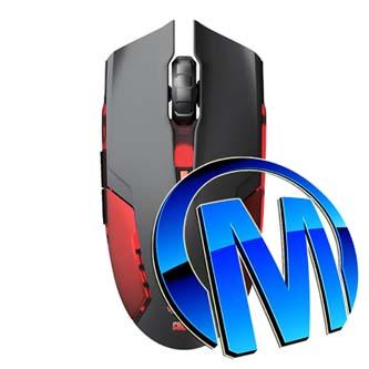 E-Blue Myš Cobra II, maketa, 1600DPI, optická, 6tl., 1 kolečko, drátová USB, červená, herní