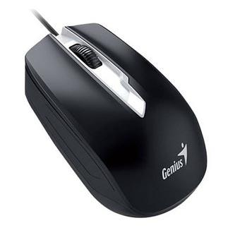 Genius Myš DX-180, 1000DPI, optická, 3tl., 1 kolečko, drátová USB, černá