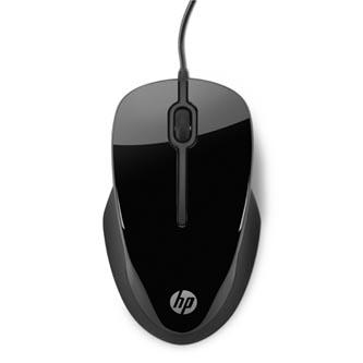 HP myš X1500 Wireless Black, 1000DPI, optická, 3tl., 1 kolečko, drátová USB, černá, Microsoft Windows XP/Vista 7/8/9/10