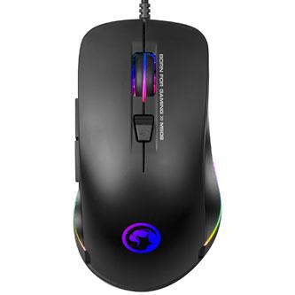 Marvo Myš M508, 3200DPI, optika, 6tl., 1 kolečko, drátová USB, černá, herní, podsvícená