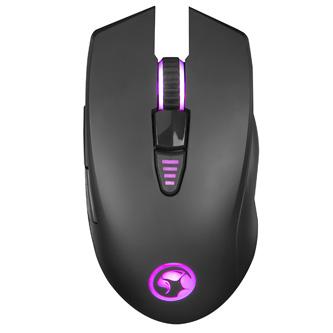Marvo Myš G982, 5000DPI, optika, 6tl., 1 kolečko, drátová USB, černá, herní, podsvícená