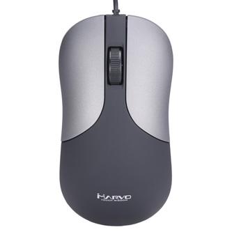 Marvo Myš DMS002GY, 1200DPI, optika, 3tl., 1 kolečko, šedá, kancelářská
