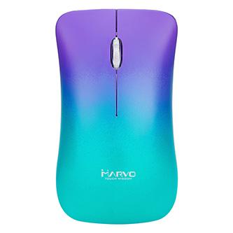 Marvo Myš DWM102PP, 1600DPI, 2.4 [GHz], optika, 3tl., 1 kolečko, bezdrátová, barevná, vestavěná baterie, kancelářská