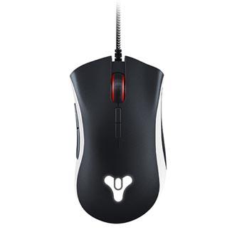 Razer Myš DeathAdder Elite - Destiny 2 Ed., 16000DPI, optická, 7tl., 1 kolečko, drátová USB, černá, herní