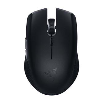 Razer Myš Atheris, 7200DPI, 2.4 [GHz] a Bluetooth, optická, 6tl., 1 kolečko, bezdrátová, černá, 2 ks AA, herní