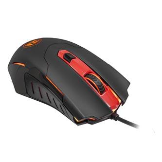 Redragon Myš PEGASUS, 7200DPI, optická, 7tl., 1 kolečko, drátová USB, černo-červená, herní, podsvícená
