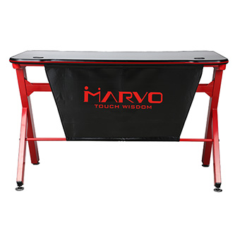 Marvo Herní stůl DE-03 120 x 66 cm, 73 cm, podsvícený