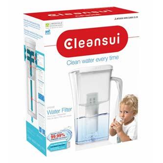 Filtrační konvice CP305E, průhledná, CleanSui 1,1 l filtrované vody, 2,1 l celkem