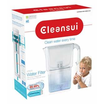 Filtrační konvice CP307E, průhledná, CleanSui 1,3 l filtrované vody, 2,3 l celkem