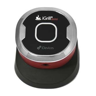IGrill Mini, červená, 1ks, digitální měřič teploty masa, propojitelný s mobilním telefonem
