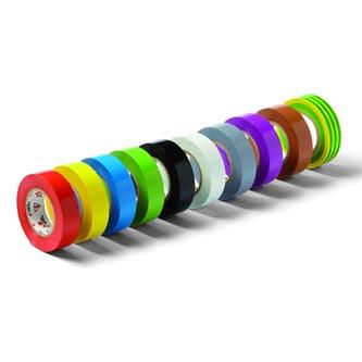 Páska izolační 1,5cm, VOLT, 10m, černá, 10ks, cena za 1ks, Schuller Eh,klar