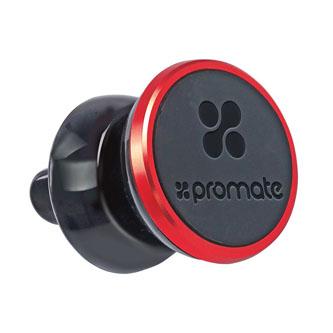 Držák mobilu otočný, do auta, ventGrip, černý, Promate, do ventilátoru, černá, mobil