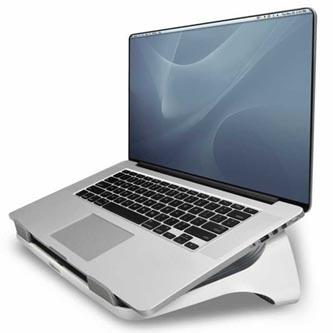 Podstavec I-Spire pod notebook, bílý, plast, 6 kg nosnost, Fellowes