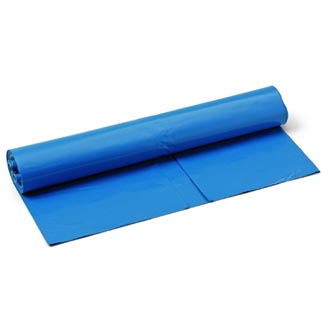 Pytle na opad SATO 120, 10ks, modré, 70x110cm, 40my, 120l, Schuller Eh,klar
