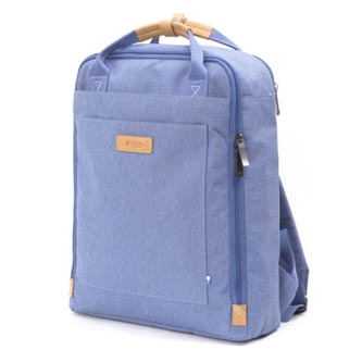 "Batoh na notebook 15,6"", Orion Light blue, modrý z polyesteru, Golla"