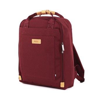 """Batoh na notebook 15,6"""", Orion Burgundy, červený z polyesteru, Golla"""