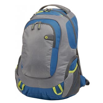 "Batoh na notebook 15,6"", Outdoor Sport Backpack, modro-šedý z polyesteru, HP"