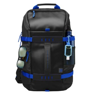 """Batoh na notebook 15,6"""", Odyssey Sport Backpack, černo-modrý z polyesteru, HP"""