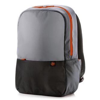 """Batoh na notebook 15,6"""", Duotone Backpack, šedo-oranžový z polyesteru, HP"""