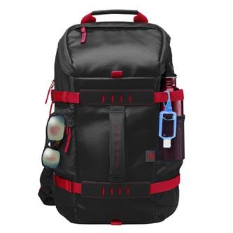 """Batoh na notebook 15,6"""", Odyssey Sport Backpack, černo-červený z polyesteru, HP"""