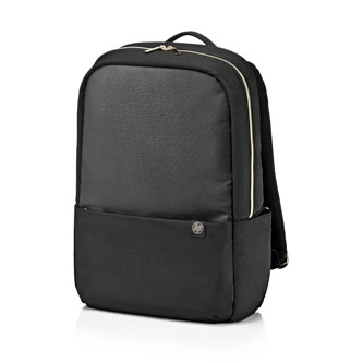 """Batoh na notebook 15,6"""", Pavilion Accent, černo-zlatý z nylonu, HP"""