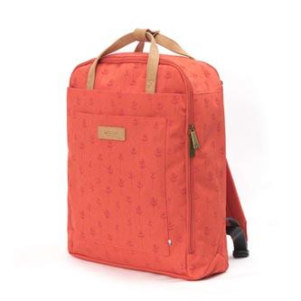"""Batoh na notebook 15,6"""", Pihka Berry, červený z polyesteru, Golla"""