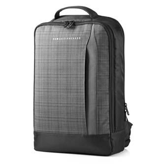 "Batoh na ultrabook 15,6"", Slim Backpack, černo-šedý z tkaniny, HP"