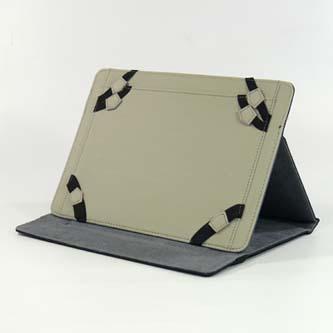 "Obal na tablet 9.7"" a 10.1"", Scene, černý z polyester/mikro vlákna"