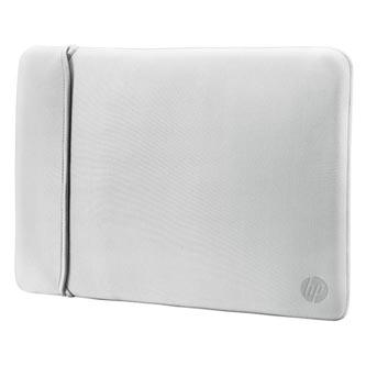 """Sleeve na notebook 15,6"""", Reversible, stříbrný/černý z neoprenu, HP"""