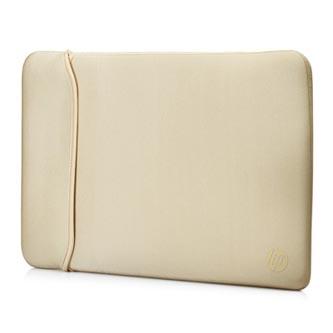 "Sleeve na notebook 15,6"", Reversible, zlatý/černý z neoprenu, HP"