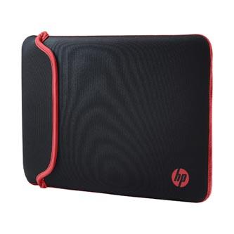 "Sleeve na notebook 14"", Reversible, červený/černý z neoprenu, oboustranný, HP"