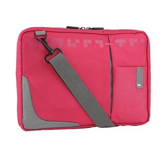 """Taška na tablet 10,2"""", růžová z nylonu, NT008 typ Crown"""