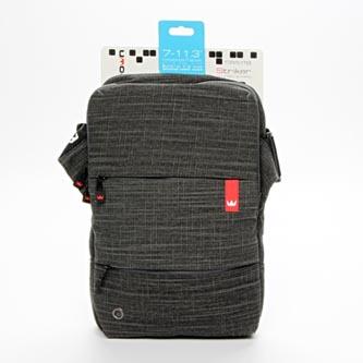 """Taška na tablet 11"""", NT011, černá z nylonu, s podstavcem na tablet typ Crown"""
