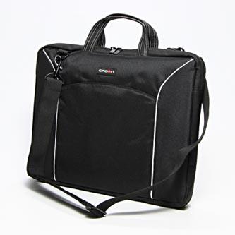 "Taška na notebook 15,6"", černá z nylonu, NT001 typ Crown"