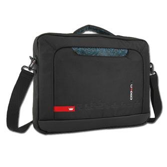 "Taška na notebook 15,6"", černá z nylonu, NT003, Crown"