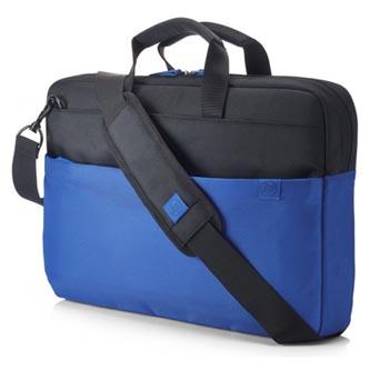 """Taška na notebook 15,6"""", Duotone BriefCase, modrá z polyesteru, HP"""