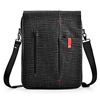 """Messenger na notebook 15,6"""", černá z bavlny, NT005 typ Crown"""