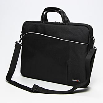 "Taška na notebook 15,6"", černá z nylonu, NT002 typ Crown"