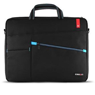 "Taška na notebook 15,6"", černá z nylonu, NT009 typ Crown"